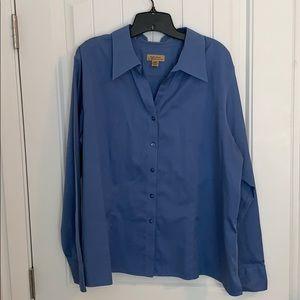 Light blue button down dress shirt